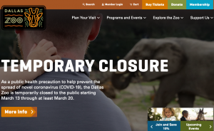 Dallas Zoo Temporarily Closed